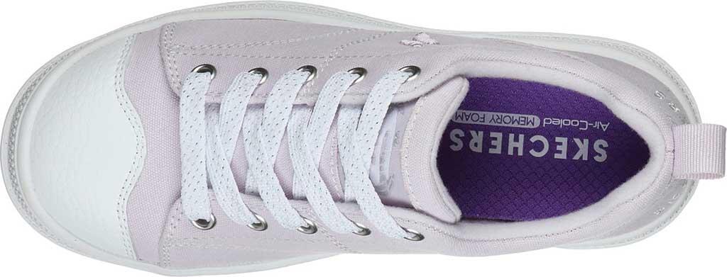 Girls' Skechers Roadies True Roots Sneaker, Lavender, large, image 4