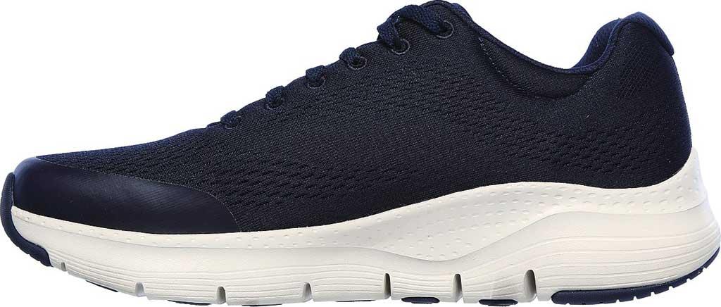 Men's Skechers Arch Fit Sneaker, Navy, large, image 3