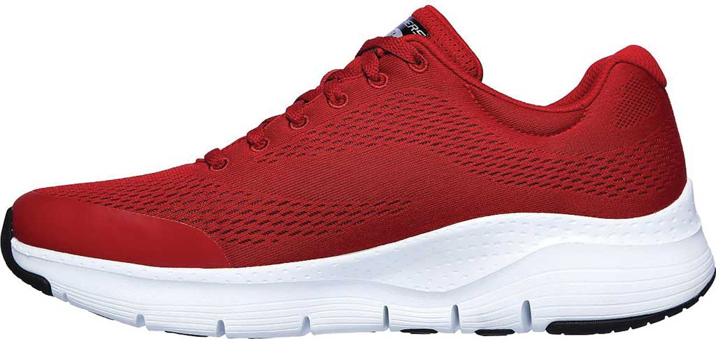 Men's Skechers Arch Fit Sneaker, Red, large, image 3