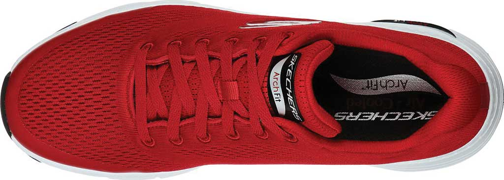 Men's Skechers Arch Fit Sneaker, Red, large, image 4