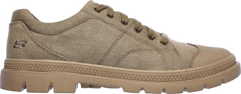 Men's Skechers Relaxed Fit Roadout Pelson Sneaker, Taupe, large, image 2