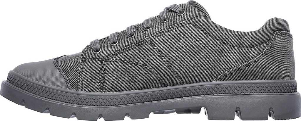 Men's Skechers Relaxed Fit Roadout Pelson Sneaker, Gray, large, image 3