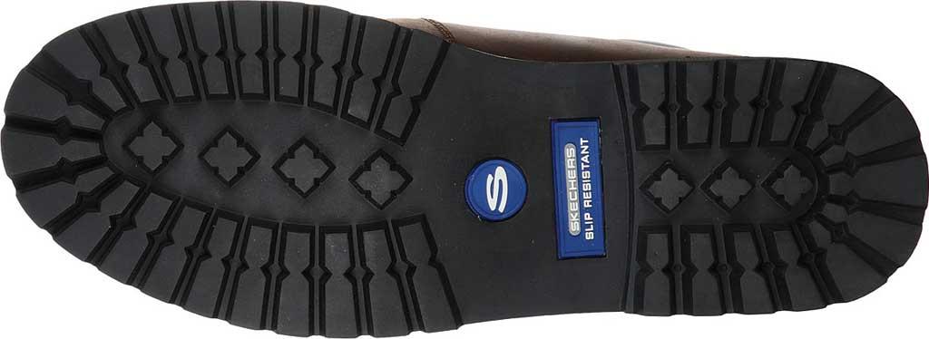 Men's Skechers Work Trevok ST WP Boot, Chocolate Dark Brown, large, image 5