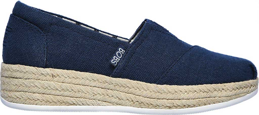 Women's Skechers BOBS Highlights 2.0 Fairy Duster Espadrille, Navy, large, image 2