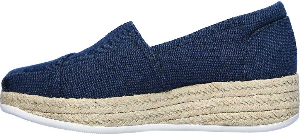 Women's Skechers BOBS Highlights 2.0 Fairy Duster Espadrille, Navy, large, image 3