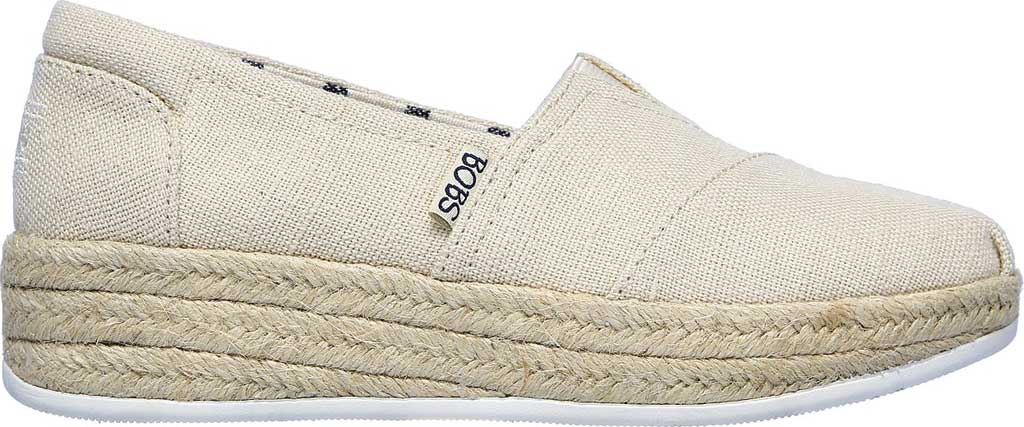 Women's Skechers BOBS Highlights 2.0 Fairy Duster Espadrille, Natural, large, image 2
