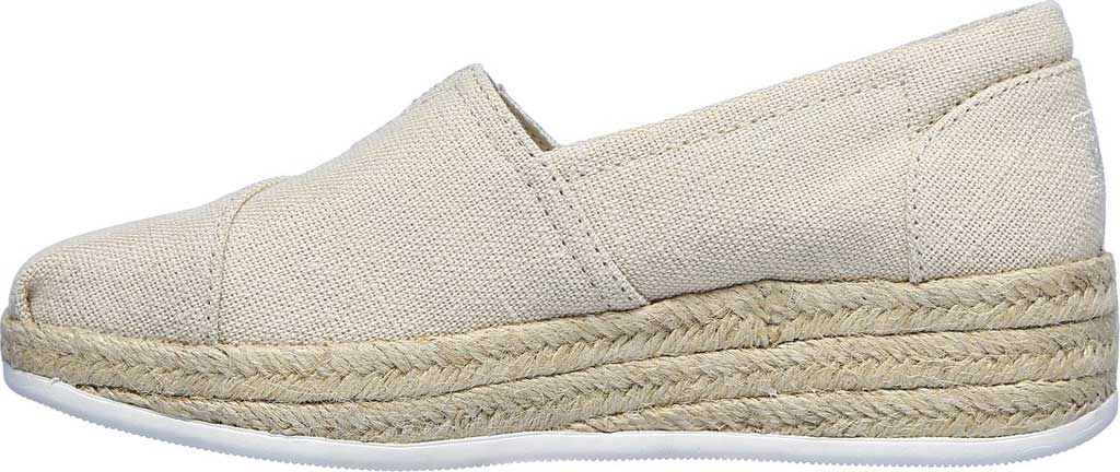 Women's Skechers BOBS Highlights 2.0 Fairy Duster Espadrille, Natural, large, image 3