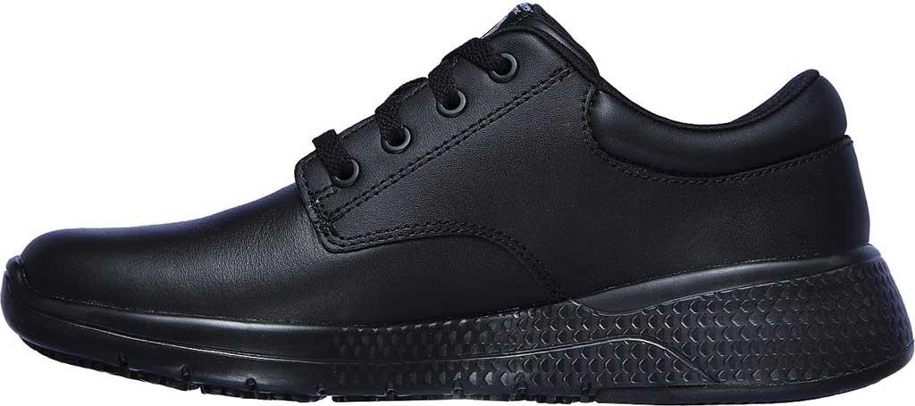 Women's Skechers Work Relaxed Fit Marsing Navor SR Sneaker, Black, large, image 3