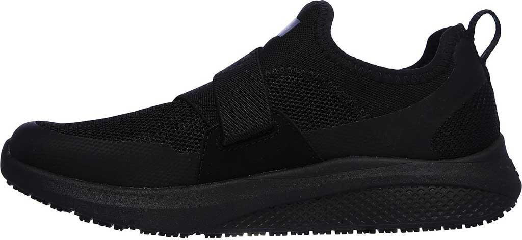 Women's Skechers Work Elloree Slip Resistant Shoe, Black, large, image 3