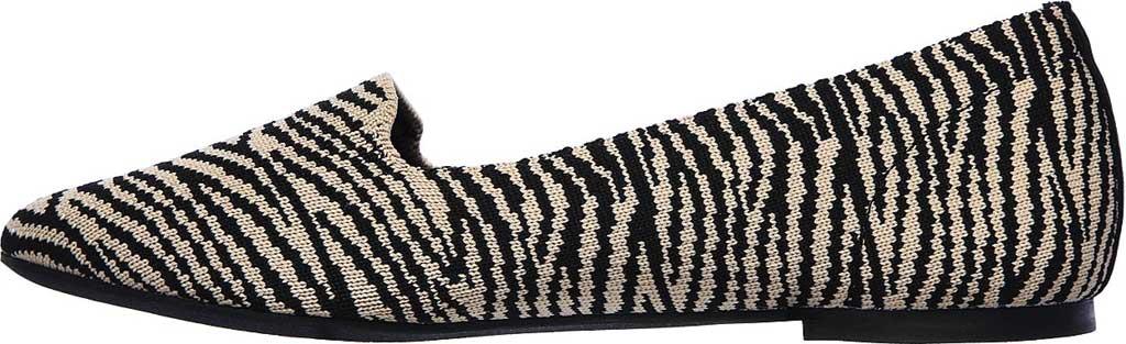 Women's Skechers Cleo Knitty Kitty Flat, Natural/Black, large, image 3