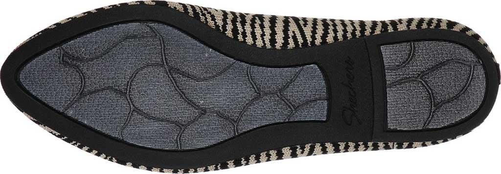 Women's Skechers Cleo Knitty Kitty Flat, Natural/Black, large, image 5