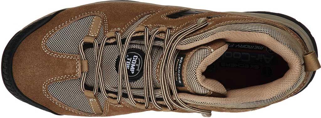 Men's Skechers Work Monter Comp Toe Boot, Khaki, large, image 4