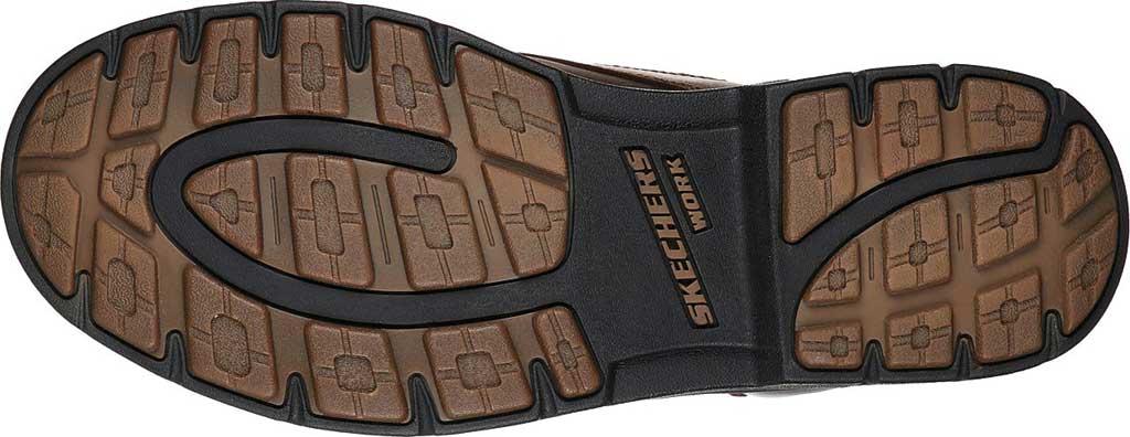 Men's Skechers Work Relaxed Fit Vicksburk Gentain WP Boot, Chocolate Dark Brown, large, image 5