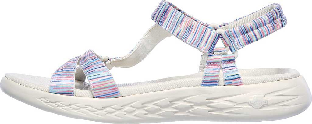 Women's Skechers On the GO 600 Electric Active Sandal, Natural/Multi, large, image 3