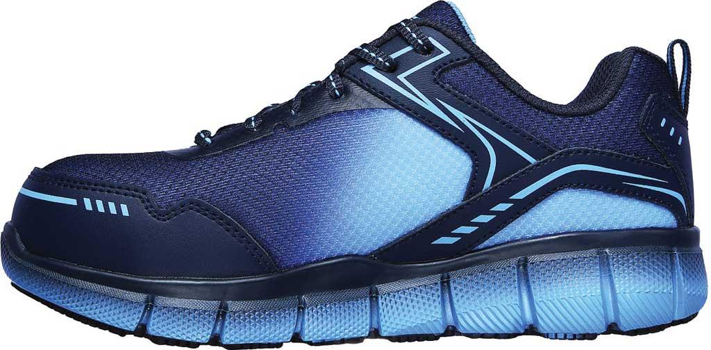 Women's Skechers Work Telfin Arterios Alloy Toe Sneaker, Navy/Blue, large, image 3
