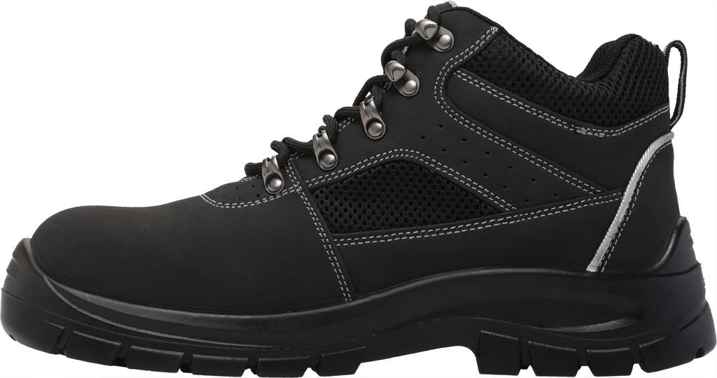 Men's Skechers Work Trophus Letic Steel Toe Boot, Black, large, image 3