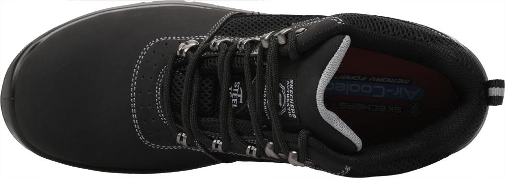 Men's Skechers Work Trophus Letic Steel Toe Boot, Black, large, image 5