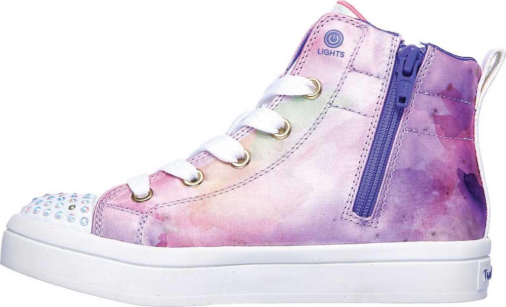 Girls' Skechers Twinkle Toes Twi-Lites Unicorn Splash Sneaker, Lavender/Multi, large, image 3