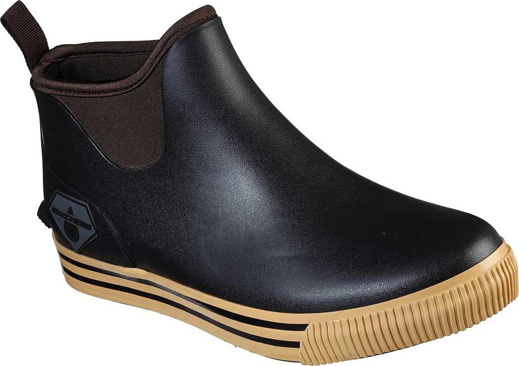 Men's Skechers Work Moltke Pull On Waterproof Boot, Brown, large, image 1