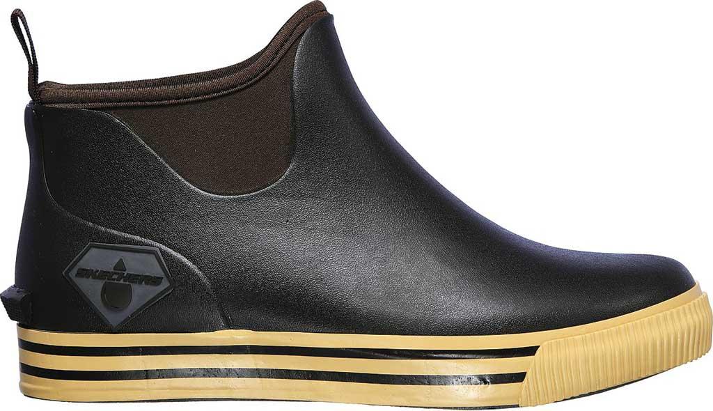 Men's Skechers Work Moltke Pull On Waterproof Boot, Brown, large, image 2