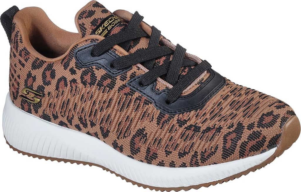 Women's Skechers BOBS Sport Squad Mighty Cat Sneaker, , large, image 1