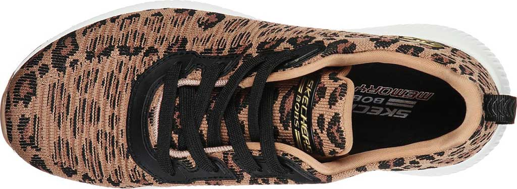 Women's Skechers BOBS Sport Squad Mighty Cat Sneaker, , large, image 4