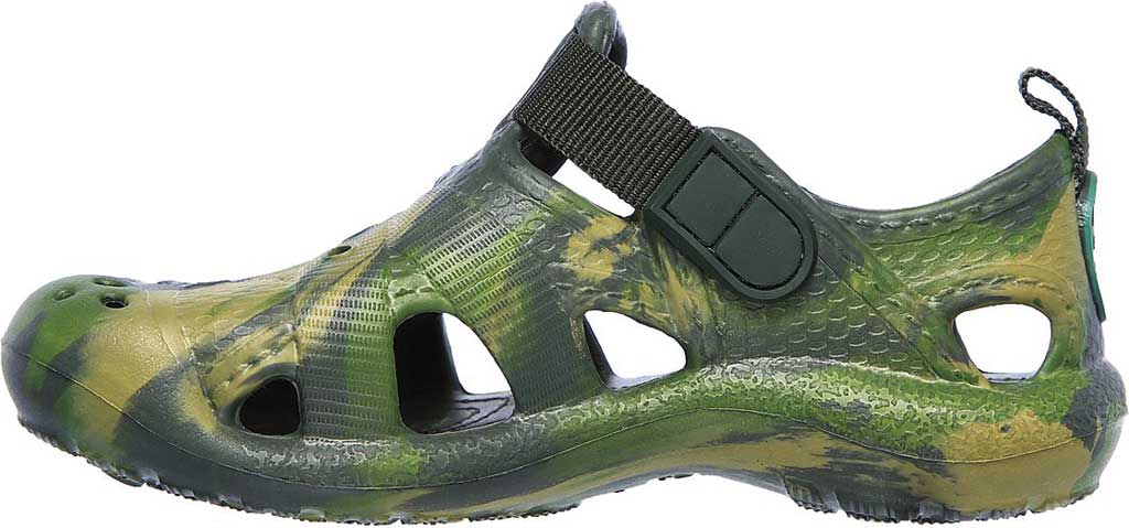 Infant Boys' Skechers Foamies Koolers Fisherman Sandal, Camouflage, large, image 3