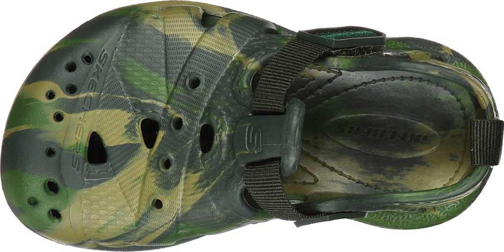 Infant Boys' Skechers Foamies Koolers Fisherman Sandal, Camouflage, large, image 4