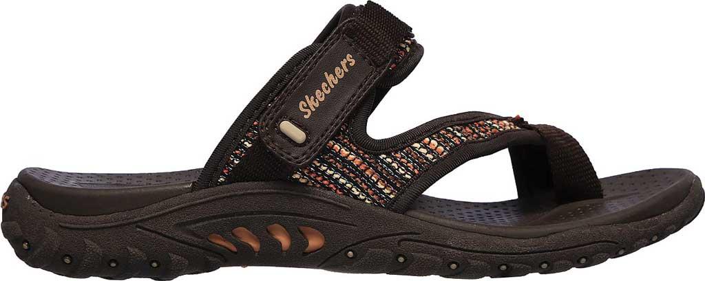 Women's Skechers Reggae Stockholm Toe Loop Sport Sandal, Chocolate, large, image 2