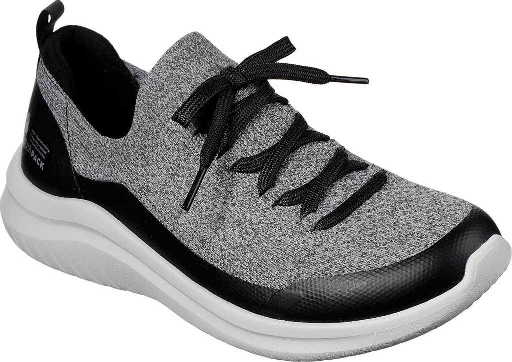 Women's Skechers Ultra Flex 2.0 Cloudy Sunrise Sneaker, Gray/Black, large, image 1