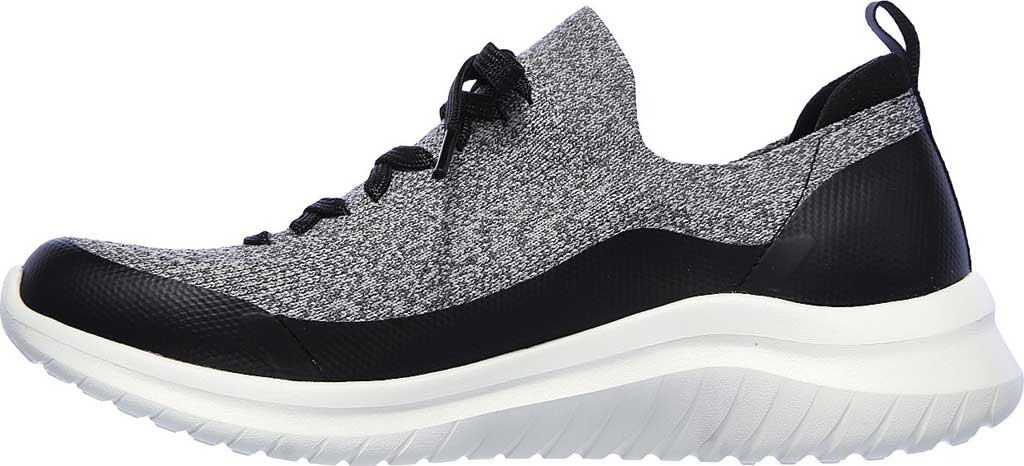 Women's Skechers Ultra Flex 2.0 Cloudy Sunrise Sneaker, Gray/Black, large, image 3