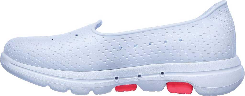 Women's Skechers Foamies Go Walk 5 Sun Kissed Slip-On, White, large, image 3