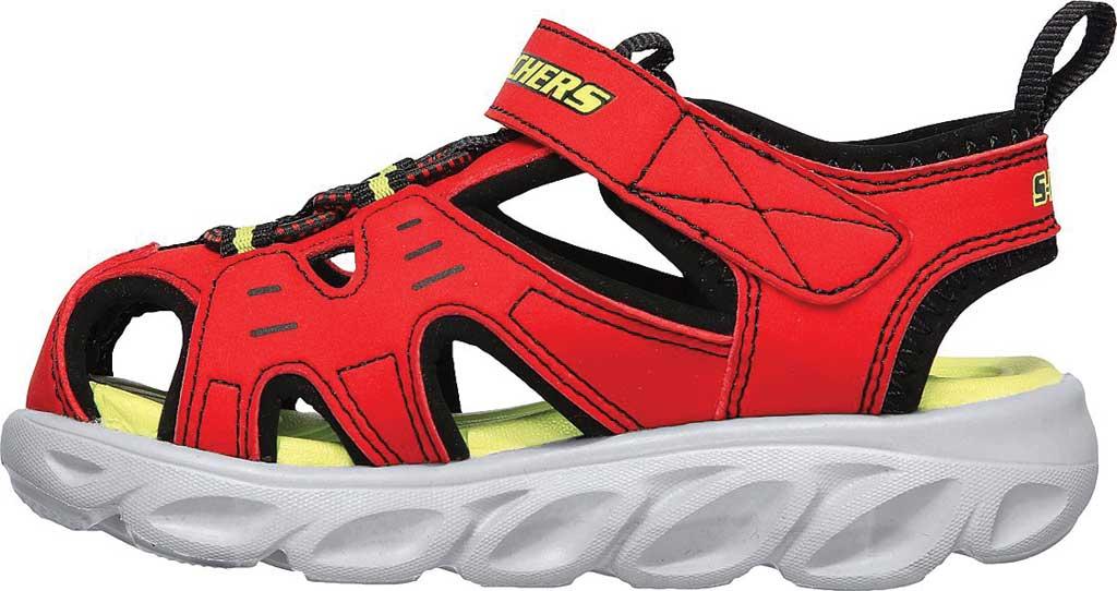 Infant Boys' Skechers S Lights Hypno-Splash Splash N Play Sandal, Red/Black, large, image 3