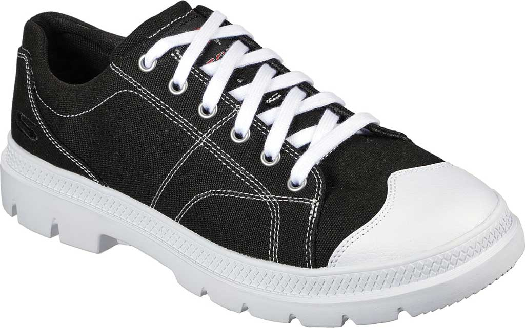 Men's Skechers Relaxed Fit Roadout Alero Sneaker, Black, large, image 1