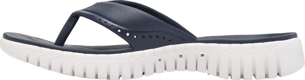 Women's Skechers Foamies GOwalk Smart Mahalo Flip Flop, Navy, large, image 3