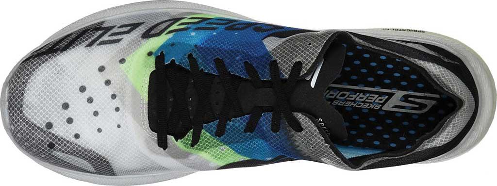 Men's Skechers GOrun Speed Elite Hyper Running Shoe, Black/Blue, large, image 4
