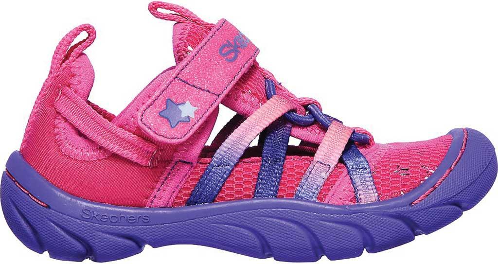 Infant Girls' Skechers Summer Steps Humble Cutie Closed Toe Sandal, Hot Pink/Purple, large, image 2
