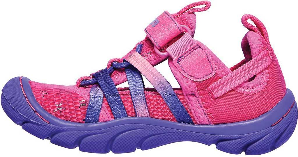 Infant Girls' Skechers Summer Steps Humble Cutie Closed Toe Sandal, Hot Pink/Purple, large, image 3