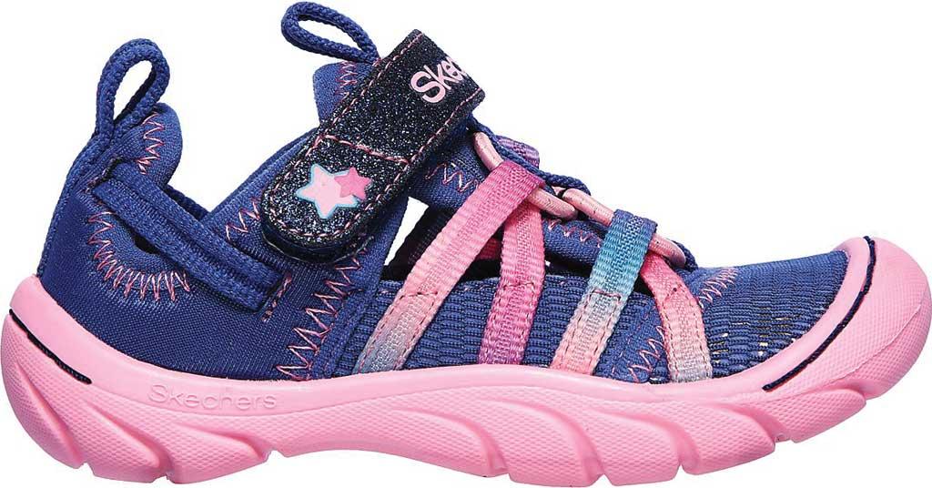 Infant Girls' Skechers Summer Steps Humble Cutie Closed Toe Sandal, Navy/Pink, large, image 2