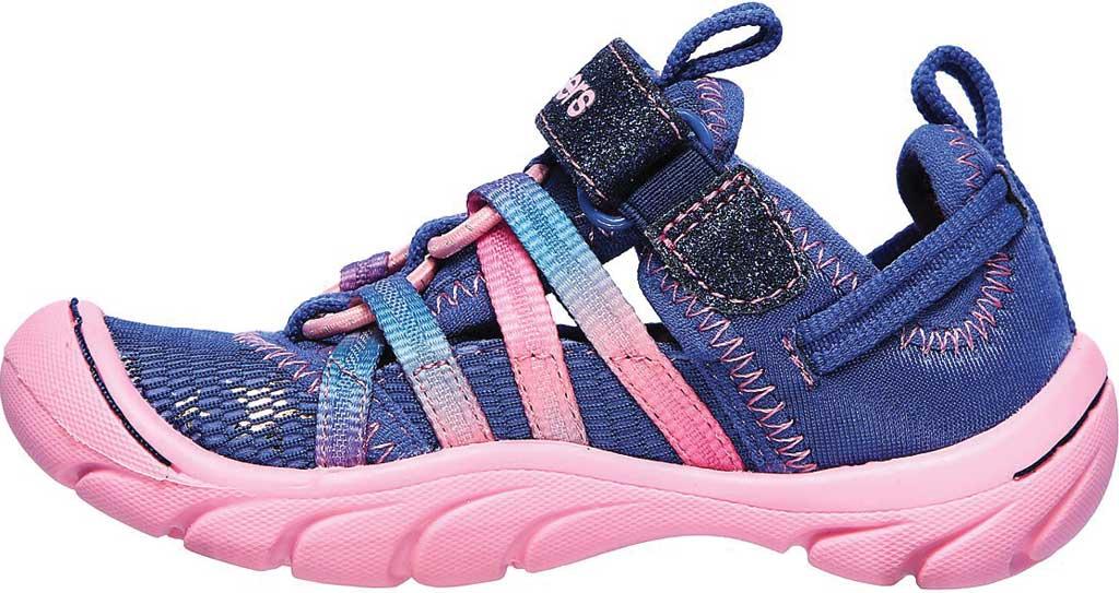 Infant Girls' Skechers Summer Steps Humble Cutie Closed Toe Sandal, Navy/Pink, large, image 3