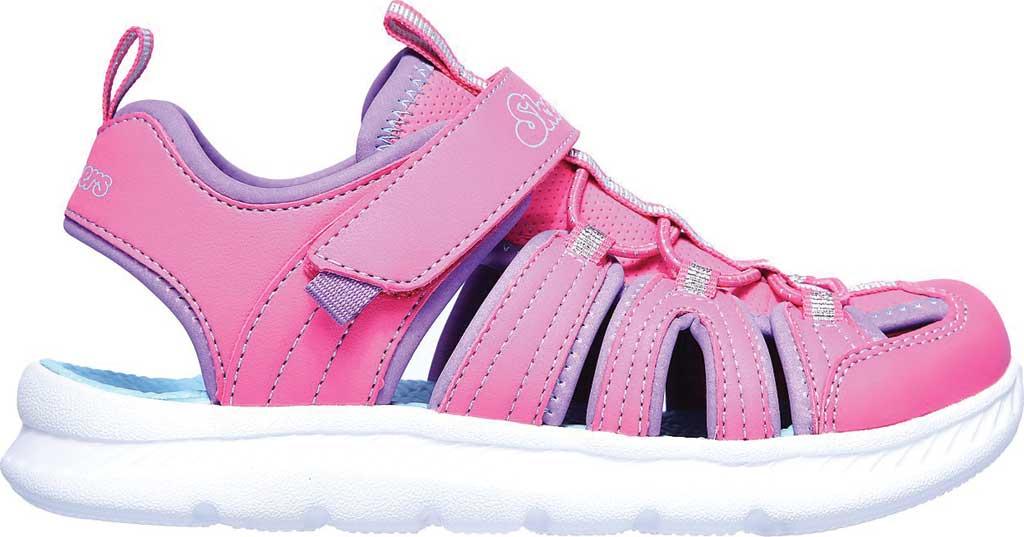 Girls' Skechers C-Flex Sandal 2.0 Playful Trek Fisherman Sandal, Hot Pink, large, image 2