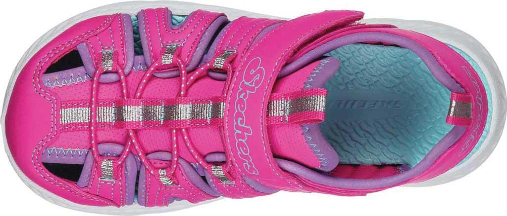 Girls' Skechers C-Flex Sandal 2.0 Playful Trek Fisherman Sandal, Hot Pink, large, image 4