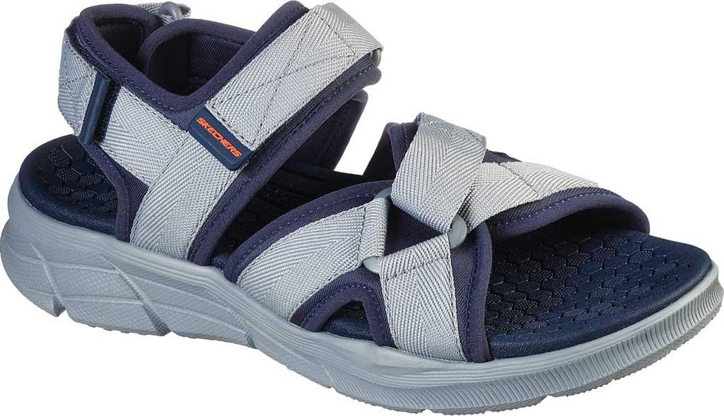 Men's Skechers Equalizer 4.0 Tolgus Sport Sandal, Navy/Charcoal, large, image 1