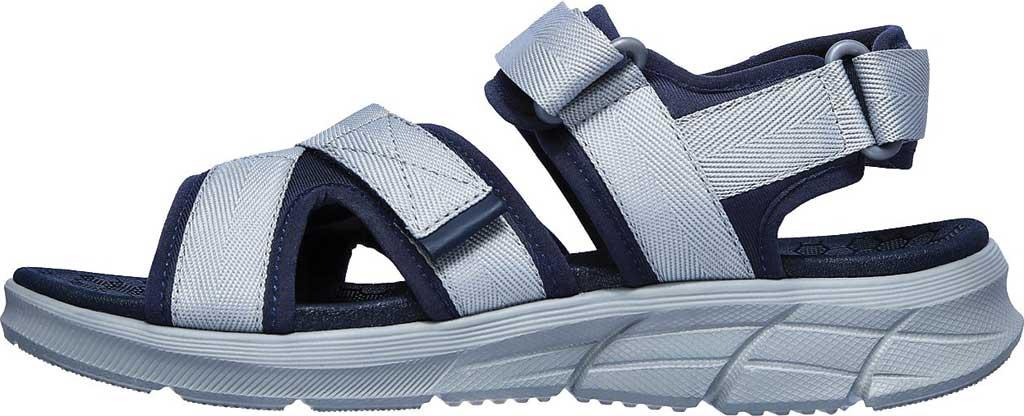 Men's Skechers Equalizer 4.0 Tolgus Sport Sandal, Navy/Charcoal, large, image 3