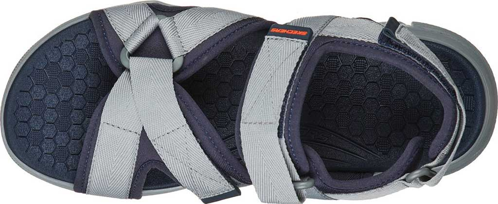Men's Skechers Equalizer 4.0 Tolgus Sport Sandal, Navy/Charcoal, large, image 4