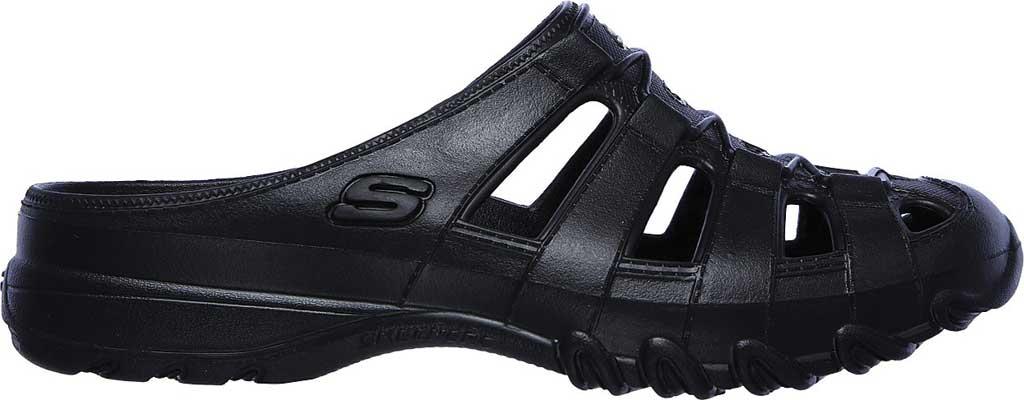 Women's Skechers Foamies Speedsters Meander Mule, Black/Black, large, image 2