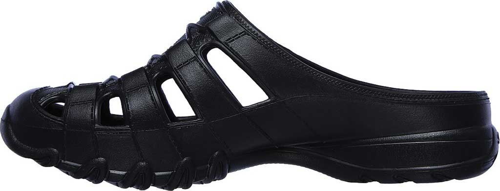 Women's Skechers Foamies Speedsters Meander Mule, Black/Black, large, image 3