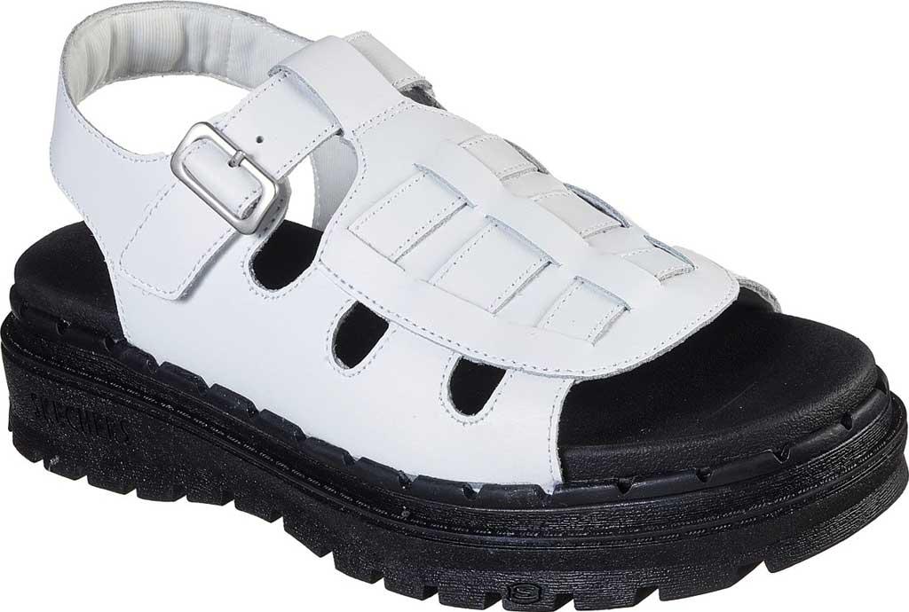 Women's Skechers Jammers Throwback Slingback Sandal, White, large, image 1