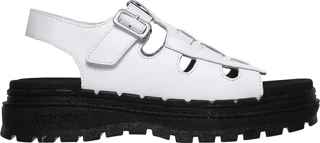 Women's Skechers Jammers Throwback Slingback Sandal, White, large, image 2