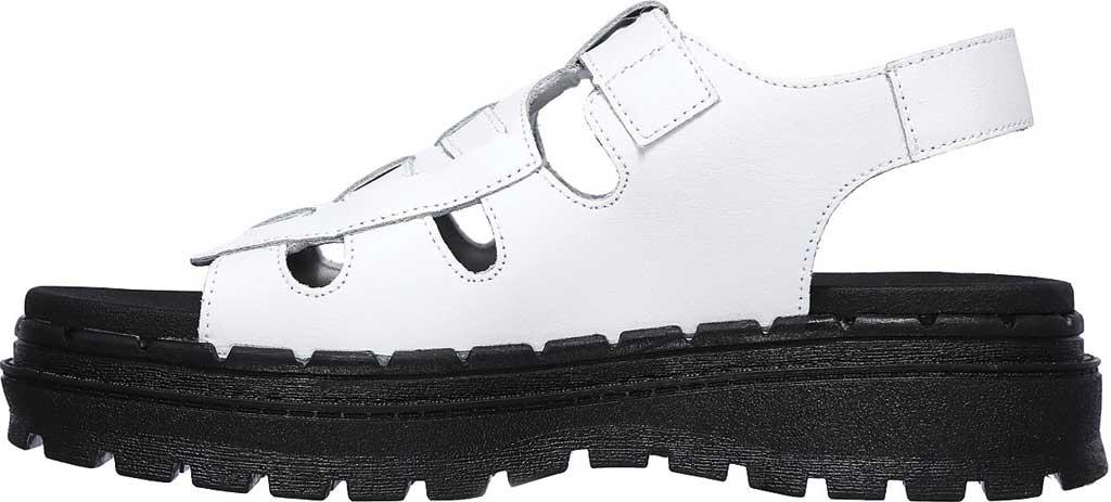 Women's Skechers Jammers Throwback Slingback Sandal, White, large, image 3